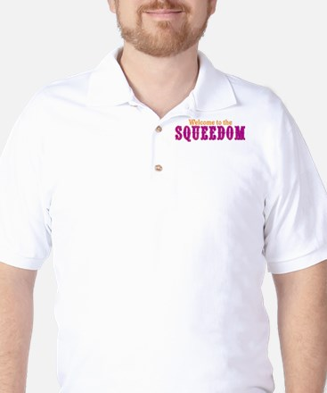 Welcome to Squeedom Golf Shirt