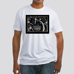 Black Shadow Fitted T-Shirt