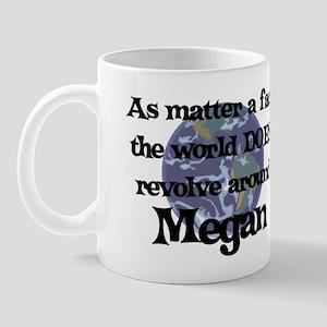 World Revolves Around Megan Mug