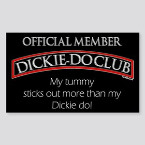 The Dickie-Do Club Sticker