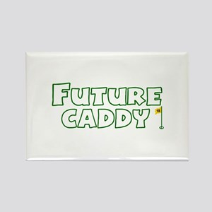 Future Caddy Rectangle Magnet