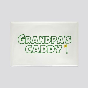 Grandpa's Caddy Rectangle Magnet