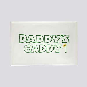 Daddy's Caddy Rectangle Magnet