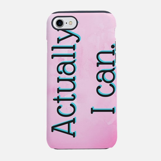 Cute Fluent in movie quotes and sarcasm iPhone 8/7 Tough Case