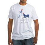 No Matter What (NAVY) Fitted T-Shirt