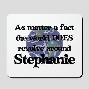 World Revolves Around Stephan Mousepad