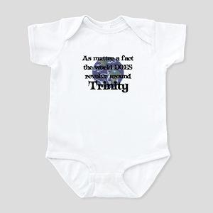 World Revolves Around Trinity Infant Bodysuit