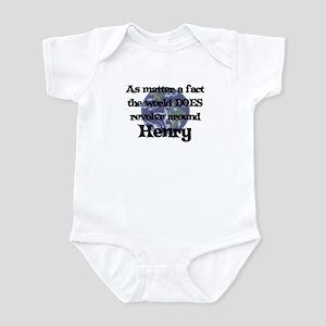 World Revolves Around Henry Infant Bodysuit