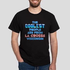 Coolest: La Crosse, WI Dark T-Shirt