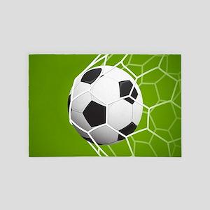 Football Goal 4' x 6' Rug