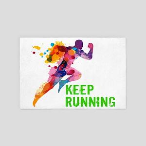 Keep Running 4' x 6' Rug