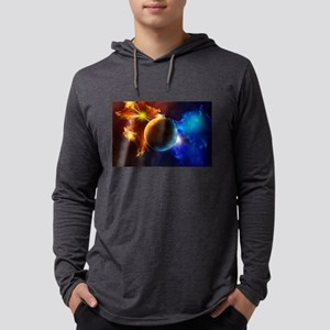 Planet And Space Long Sleeve T-Shirt