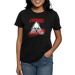 Caution Biohazard Women's Dark T-Shirt