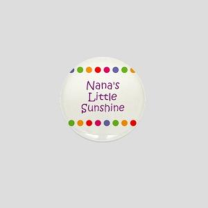 Nana's Little Sunshine Mini Button