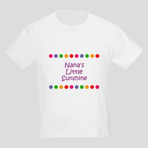 Nana's Little Sunshine Kids Light T-Shirt