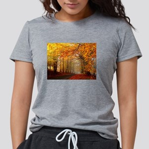 Road At Autumn T-Shirt