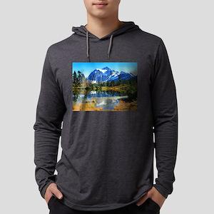 Mountain At Autumn Long Sleeve T-Shirt