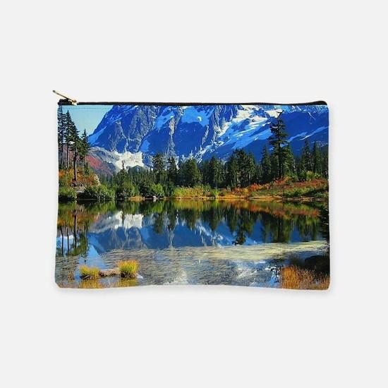 Mountain At Autumn Makeup Bag