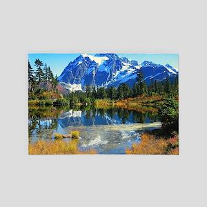 Mountain At Autumn 4' x 6' Rug