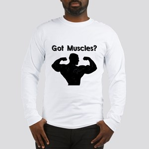 Got Muscle Long Sleeve T-Shirt with MPG Logo
