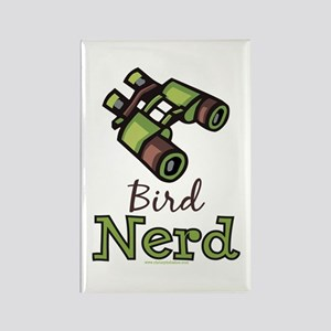 Bird Nerd Birding Ornithology Rectangle Magnet