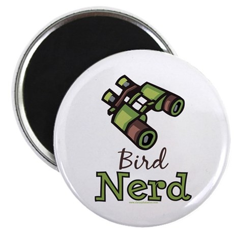 Bird Nerd Birding Ornithology Magnet