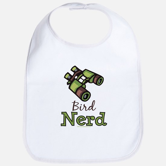 Bird Nerd Birding Ornithology Bib