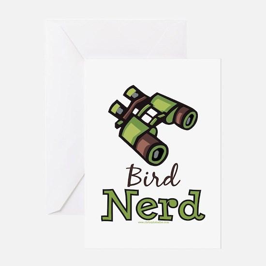 Bird Nerd Birding Ornithology Greeting Card