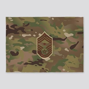 U.S. Air Force: E-9 1st Sergeant (C 5'x7'Area Rug