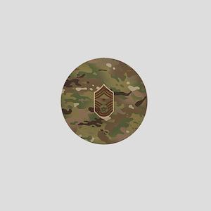 U.S. Air Force: E-9 1st Sergeant (Camo Mini Button