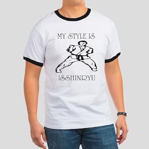 Isshinryu Karate Sanchin Ringer T