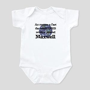 World Revolves Around Maxwell Infant Bodysuit