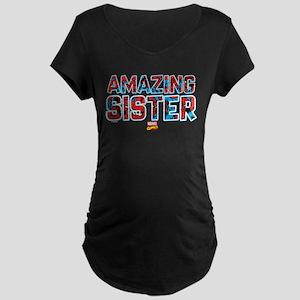 Spider-Man Sister Maternity Dark T-Shirt