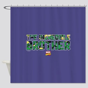 Hulk Brother Shower Curtain