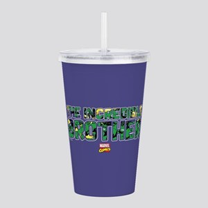 Hulk Brother Acrylic Double-wall Tumbler