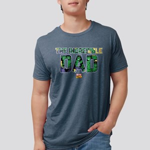 Hulk Dad Mens Tri-blend T-Shirt
