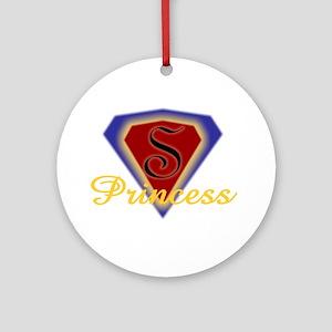 Super Princess Ornament (Round)