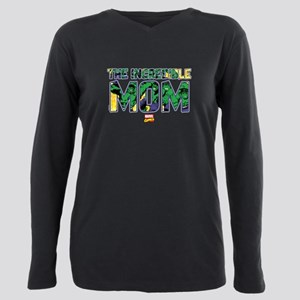 Hulk Mom Plus Size Long Sleeve Tee