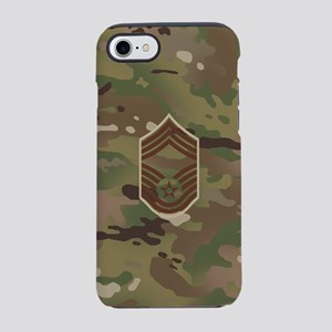 U.S. Air Force: CMSgt (Camo) iPhone 8/7 Tough Case