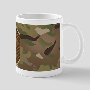 U.S. Air Force: CMSgt (Camo) 11 oz Ceramic Mug