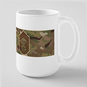 U.S. Air Force: CMSgt (Ca 15 oz Ceramic Large Mug