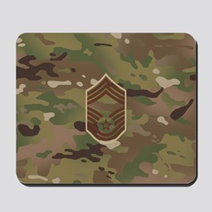 U.S. Air Force: CMSgt (Camo) Mousepad