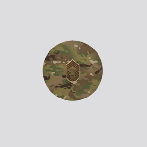 U.S. Air Force: CMSgt (Camo) Mini Button