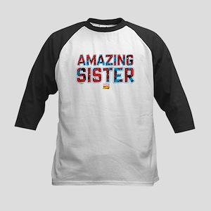 Spider-Man Sister Kids Baseball Tee