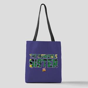 Hulk Sister Polyester Tote Bag