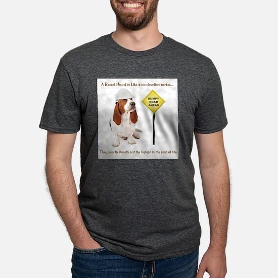 Basset Hound Construction T-Shirt