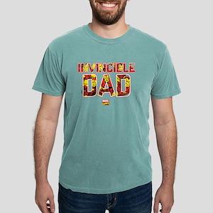 Iron Man Dad Mens Comfort Colors Shirt