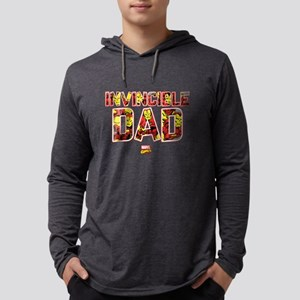 Iron Man Dad Mens Hooded Shirt