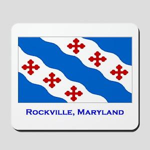 Rockville MD Flag Mousepad