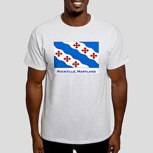 Rockville MD Flag Light T-Shirt